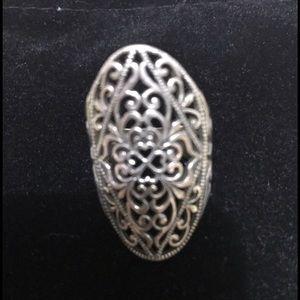 SS Beautiful Ring. Size 7